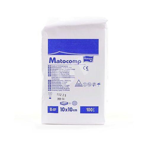 3m viscoplast s.a. Kompresy gaz.niej.13 nit.8 warstw 10x10cm - - 100 szt. (5900516705503)