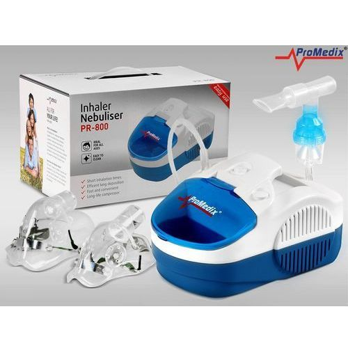 Inhalator Promedix PR-800 Zestaw nebulizator, maski, filtry z kategorii Inhalatory
