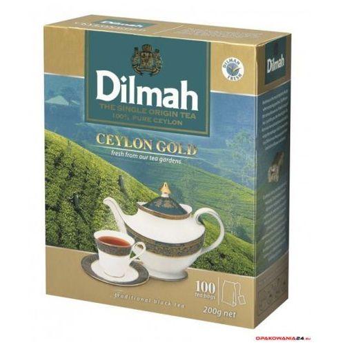 Herbata DILMAH CEYLON GOLD czarna 100t*2g