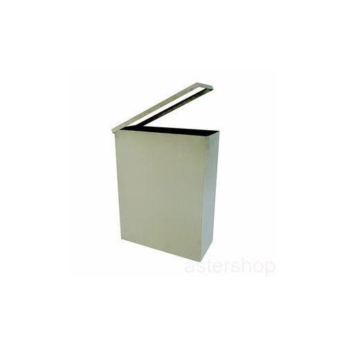 Kosz na śmieci, wiszący, prostokątny,matowy 125115045 ze sklepu ASTERSHOP