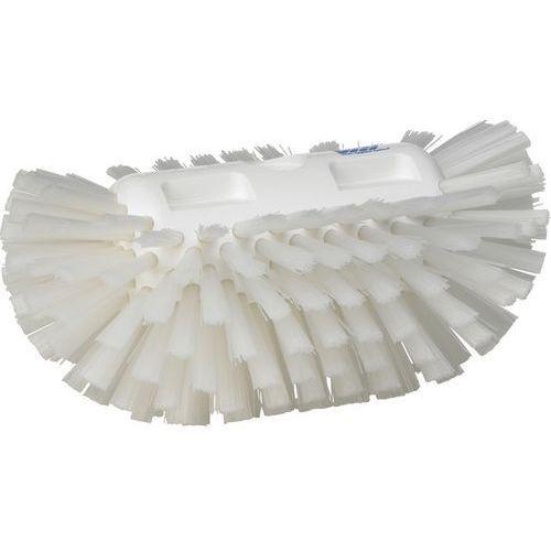 Szczotka do czyszczenia okrągłych zbiorników, twarda, biała, 205 mm, VIKAN 70375 - sprawdź w Gastrosilesia