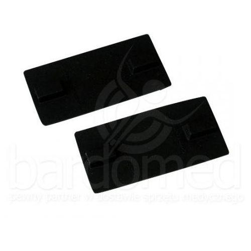 Elektroda silikonowa 60x60 mm z podwójnym przyłączem 2 i 4 mm, produkt marki Bardo-Med