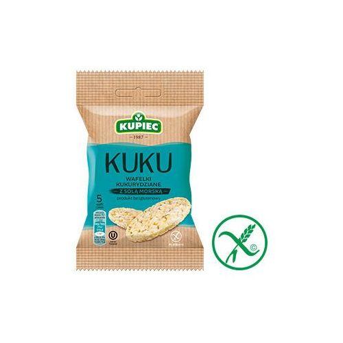 Kupiec Wafle kukurydziane z solą morską 18 g