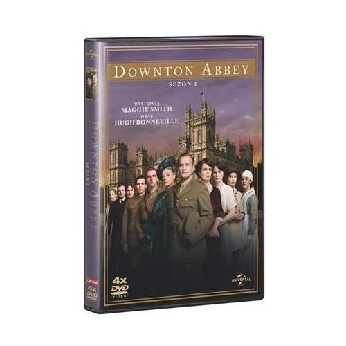 Tim film studio Downton abbey (sezon 2, 4 dvd) (5900058133635)