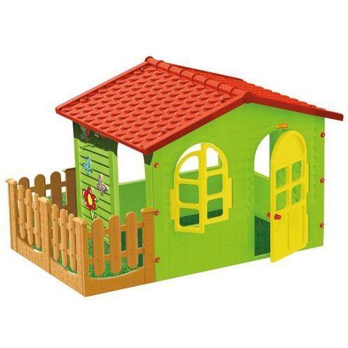 Mochtoys domek ogrodowy z płotkiem 10498 (5907442104981)