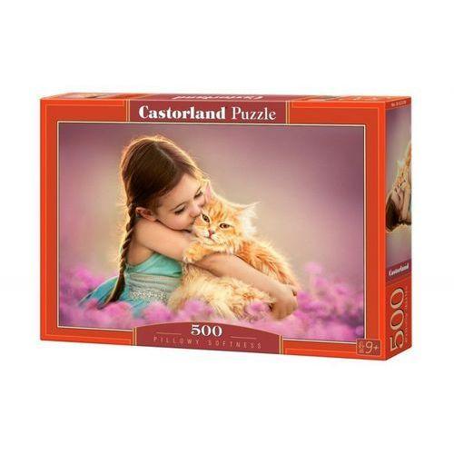 Castor 500 elementów dziewczynka z kotkiem