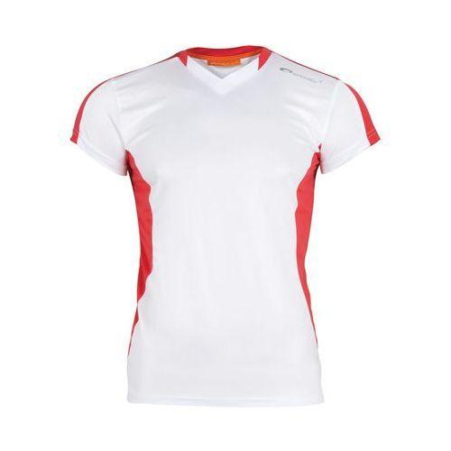 Koszulka ts821-ms16-00x (rozmiar xl) biało-czerwony marki Spokey