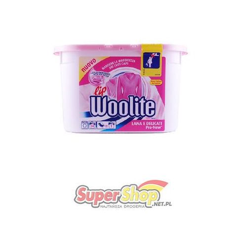 Woolite kapsułki delicate 14 szt. - sprawdź w supershop.net.pl