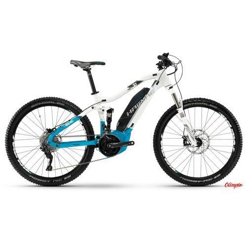 Rower elektryczny Haibike SDURO FullLife 6.0 Biało/Niebieski/Antracyt 2018