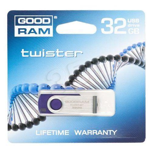GOODDRIVE FLASHDRIVE 32GB USB 2.0 TWISTER Purple, kup u jednego z partnerów