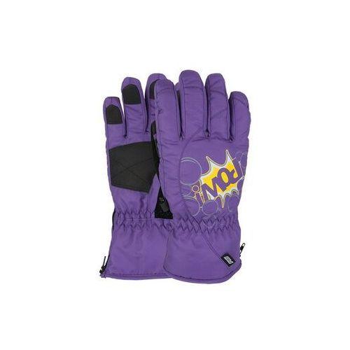 rękawice snowboardow POW - Grom Glove Purple (PU) rozmiar: J5