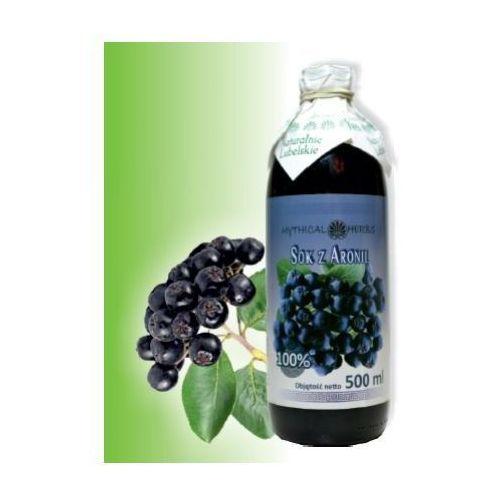Sok z aronii 100% naturalny - 500 ml