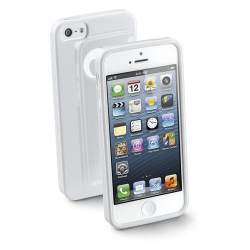 Pokrowiec CELLULAR LINE SHCHIPHONE5W (iPhone 5) Biały, kolor biały