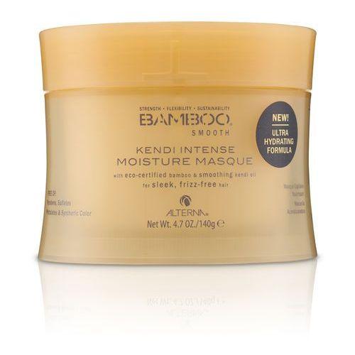 bamboo smooth kendi intense moisture | wygładzająca maska do włosów 140g marki Alterna