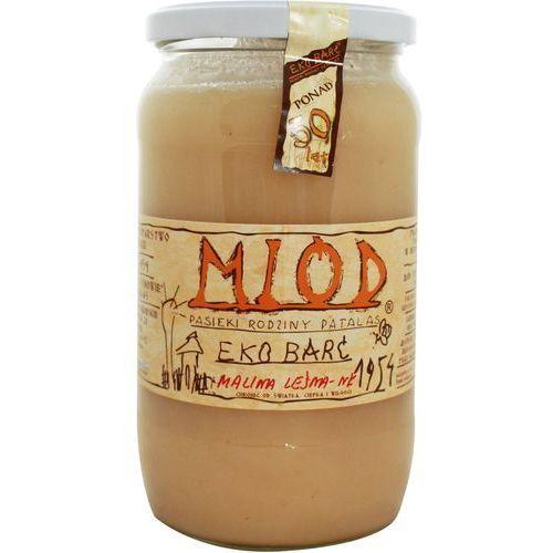 Eko barć (patalas) Miód malina leśna bio 1kg-