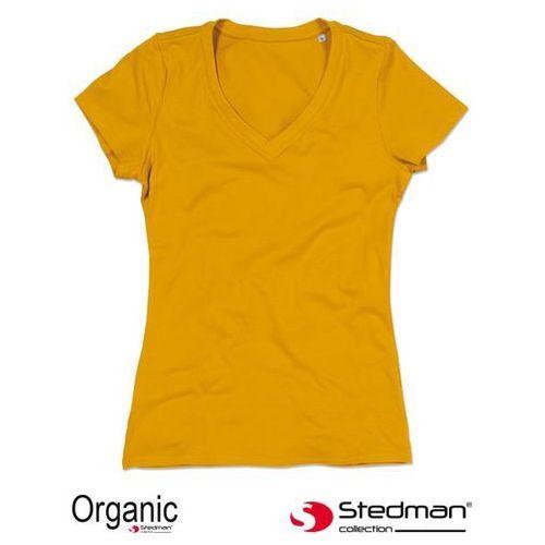 08a9a0c0bd239d T-SHIRT DAMSKI V-NECK SST9310 CZARNY L 26,80 zł T shirt żeński V neck  ST9310 100 naturalna bawełna czesana ring spun certyfikowana przez OCS  gramatura 155 g ...