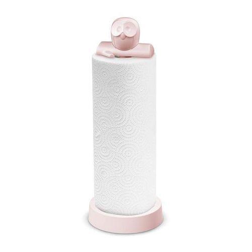 Stojak na ręczniki papierowe elli pastelowy róż marki Koziol