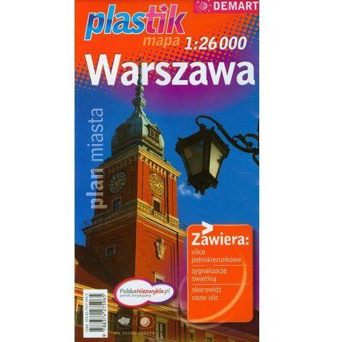 Warszawa plan miasta 1:26 000