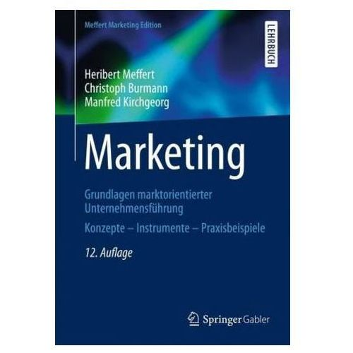 Marketing, MEFFERT HERIBERT
