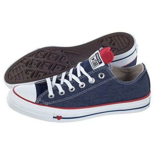 Trampki Converse CT All Star OX Indygo/Enamel Red/White 163308C (CO365-a), 163308C