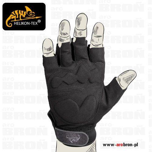 Helikon tex Rękawice helikon half finger gloves (rk-hfg-po-01) czarne
