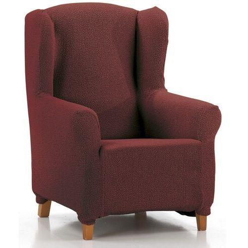 """Pokrowiec multielastyczny na fotel """"uszak"""" Petra czerwony, 70 - 110 cm, kolor czerwony"""