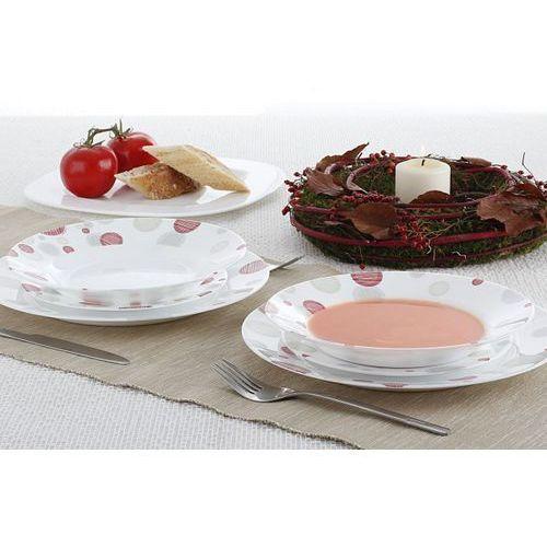 Serwis obiadowy ENZO PINK na 6 osób (18 el.) - sprawdź w Garneczki.pl - Wyposażenie Kuchni!