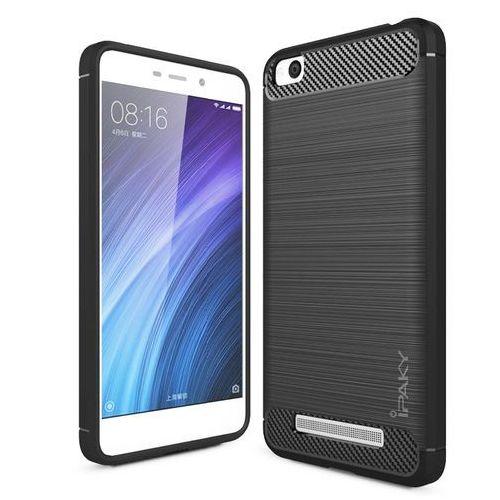 iPaky Slim Carbon elastyczne etui pokrowiec Xiaomi Redmi 4A szary (7426825340481)
