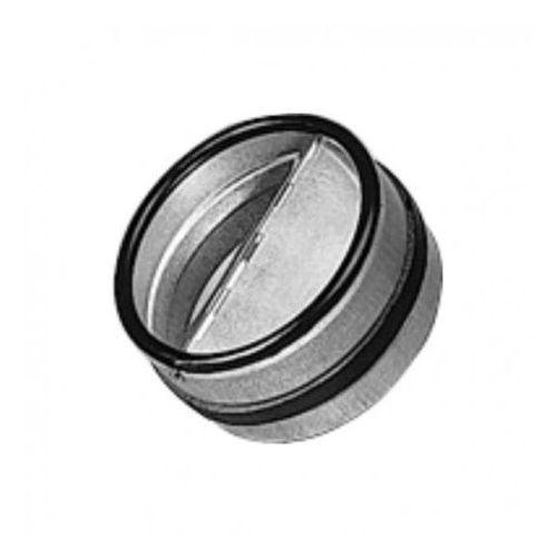 Przepustnica wentylacyjna zwrotna z uszczelką, 125 mm, RSKX 125