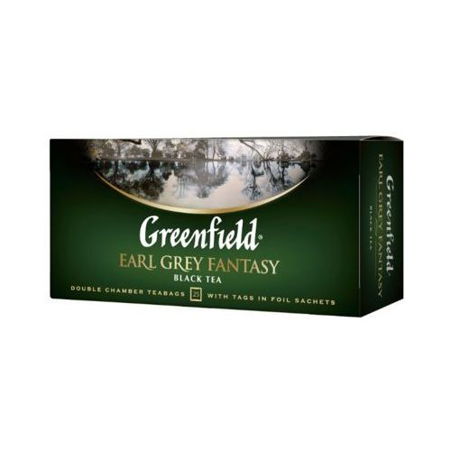 Greenfield 25x2g earl grey fantasy herbata czarna ekspresowa