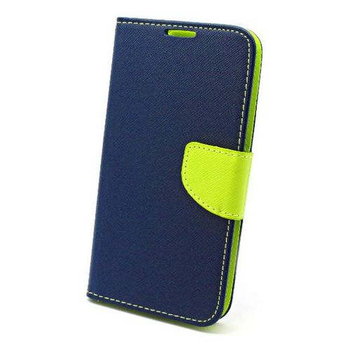 Etui Fancy Samsung Galaxy S5 niebieskie