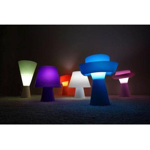 Lampka na biurko Numen pomarańczowa - produkt z kategorii- Lampki biurkowe