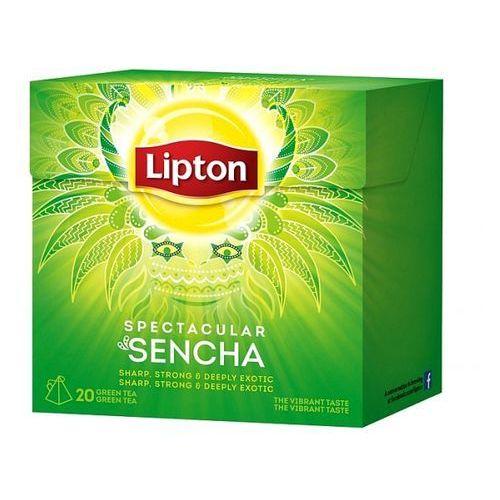 Herbata Lipton Indones Sencha piramidki (20 saszetek)