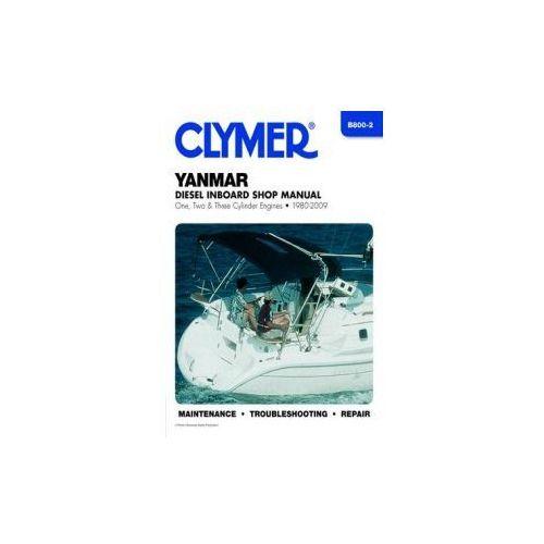 1980-2009 Yanmar Inboard 1 2 3 Cyl Diesel Marine Repair Manual 08 07 06 05 B8002