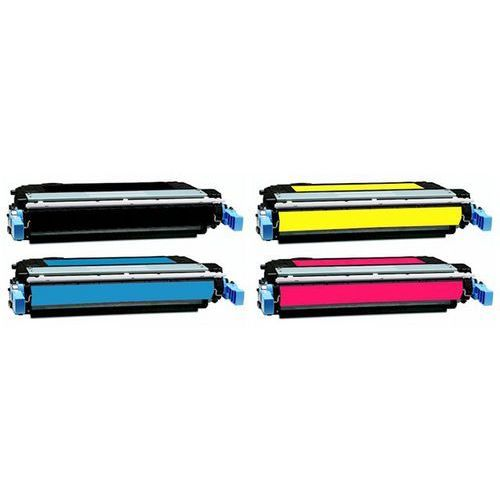 Komplet tonerów zamienników dt4005kplh do hp color laserjet cp4005 cp4005n cp4005dn, pasuje zamiast hp cb400a cb401a cb403a cb402a 642a cmyk, 7500 stron marki Dobretonery.pl