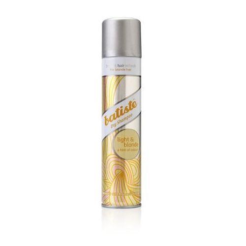 BATISTE Dry Shampoo suchy szampon do wlosow LIGHT BLONDE 200ml z kategorii Mycie włosów