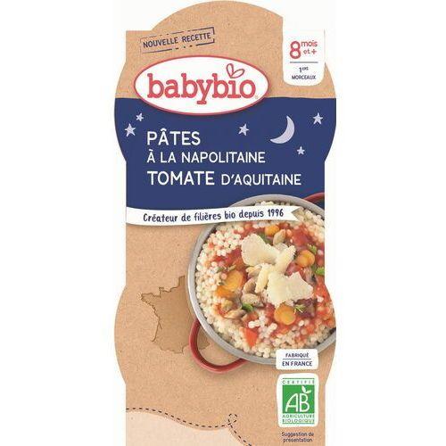 Danie makaron z pomidorami po neapolitańsku od 8 miesiąca bio 2x200 g marki Babybio