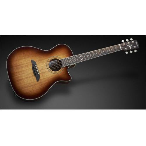 Framus fg 14 m - vintage sunburst transparent high polish + eq gitara elektroakustyczna
