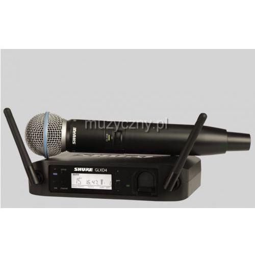 Shure glxd24/beta58 beta wireless cyfrowy mikrofon bezprzewodowy beta 58, pasmo z2