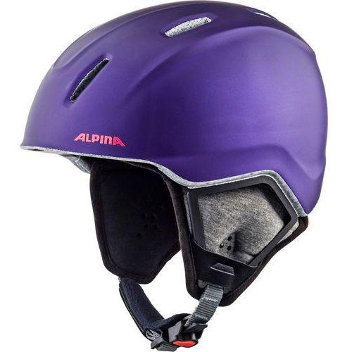 carat xt kask narciarski dzieci, royal-purple matt 54-58cm 2018 kaski narciarskie marki Alpina