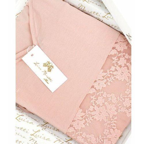 Damska bambusowa piżama sofia xl łososiowy marki Luisa moretti