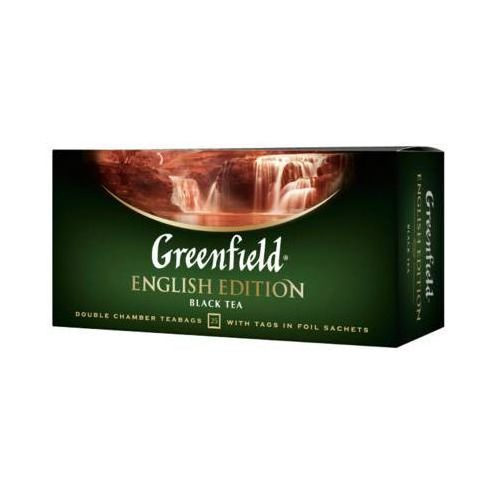 25x2g english edition herbata czarna ekspresowa marki Greenfield