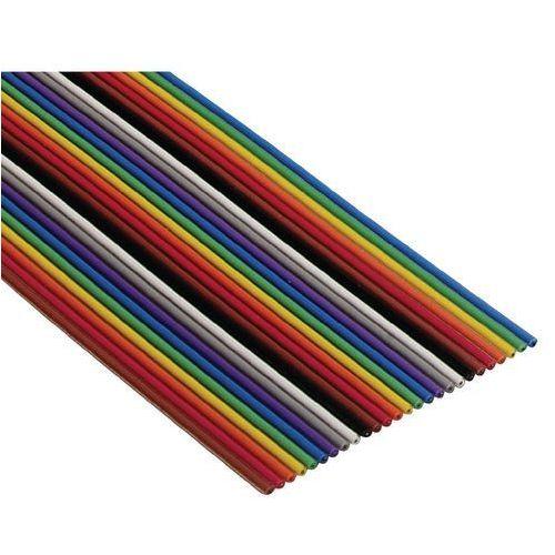 Kodowany kolorami płaski kabel taśmowy 3302 3M 3302-50 SF 80610714240 0.080 mm² kolorowy Produkty w metrach bieżących