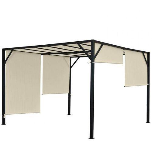 Heute wohnen Pawilon ogrodowy baia pergola 4 x 4 dach przesuwny