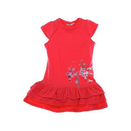 Geox Sukienka K4280D_ss14, różowa 152 (sukienka dziecięca)