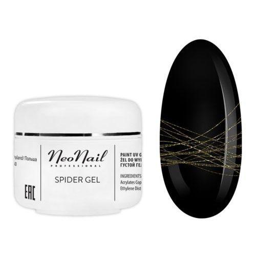 Neonail spider gel gold 5ml (5903274079572)