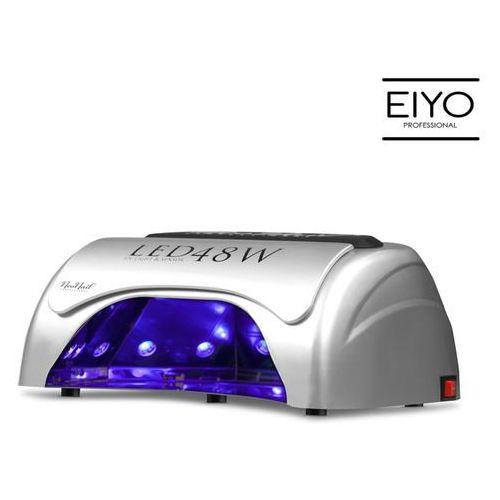 Najmocniejsza na rynku Lampa LED UV - do hybryd i żeli - srebrna – 48 W