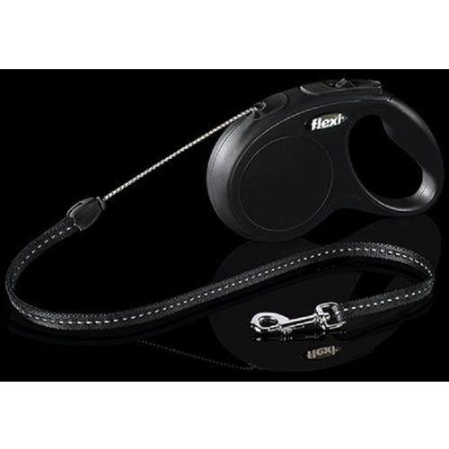 Flexi - smycze Flexi 2252 new classic s cord 5m 12kg czarna