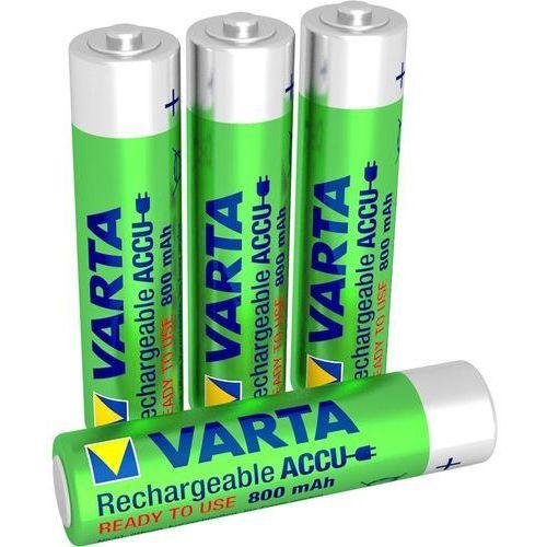 VARTA AAA 800 mAh (4 szt.) R2U - produkt w magazynie - szybka wysyłka!, 56783 AAA-4pack 800mAh