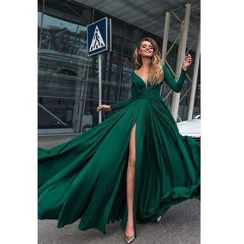 Sukienka OPHELIA GREEN, w 4 rozmiarach